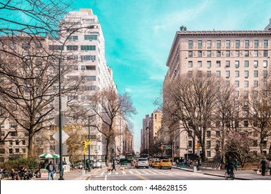 Photo of Streets and Buildings of Upper East Site of Manhattan, New York City