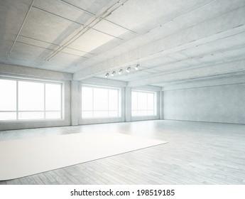 Photo studio interior
