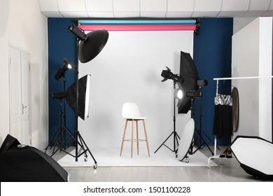 Photo Studio Interior Images Stock Photos Vectors Shutterstock