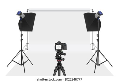 Photo studio set-up