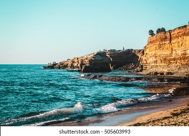Photo of Sunset Cliffs in San Diego, California
