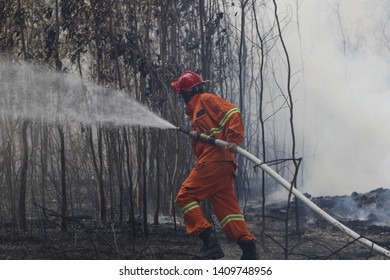 photo taken during a fire