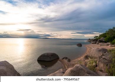 Photo taken on Domwe Island near Cape Maclear in Lake Malawi National Park.