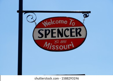 Photo taken on July 20, 2019 in Paris Spring Missouri USA. It's Spencer Station on route 66.