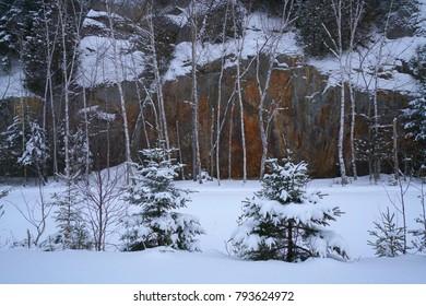 Photo was taken in Quebec Canada