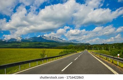 Photo of the Tatra mountains in Slovakia