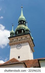 Photo of tower of city hall in Brno - Czech republic