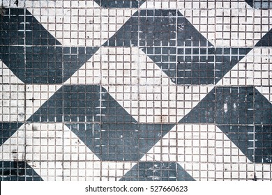 Photo of Traditional Pattern of Sao Paulo Streets in Brazil