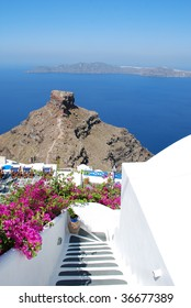 Photo of typical Santorini landscape, Thira, Greece