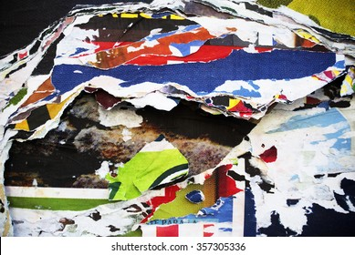 Photo of urban collage background or paper texture