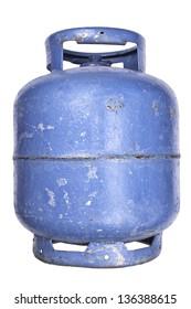Photo of Used butane gas tank