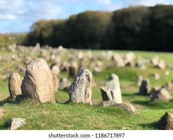 Photo of Viking graveyard, Lindholm Høje, Aalborg, Denmark