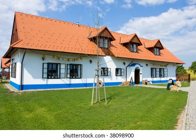 Photo of the village old house in czech republic