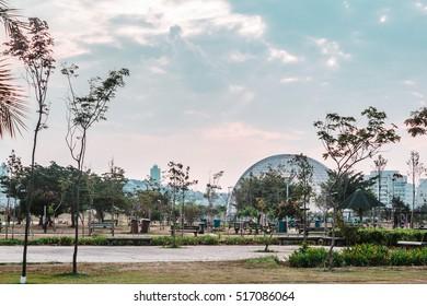 Photo of Villa-Lobos Park in San Paulo (Sao Paulo), Brazil (Brasil)