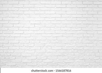 Foto de una pared de ladrillo blanco. Antecedentes abstractos.