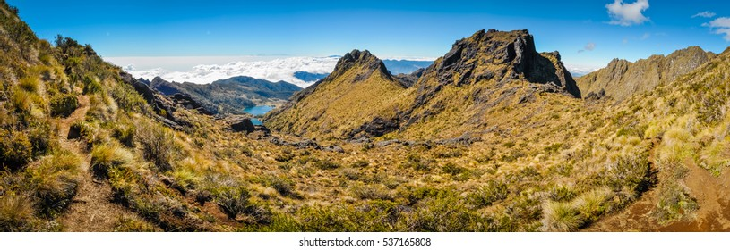 Photo of wilderness and rocks near Mount Wilhelm in Papua New Guinea. This is very remote location, rarely visited by people.