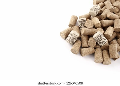 Photo of Wine corks from right corn