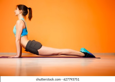Photo of woman doing fitness