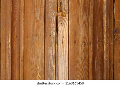 Photo of a wooden old retro texture of a gate