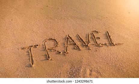 beach scene word images stock photos vectors shutterstock