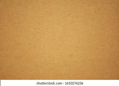 Photo of yellow cardboard background