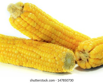 Photo of yellow corn background