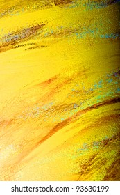 Photo of yellow wall texture
