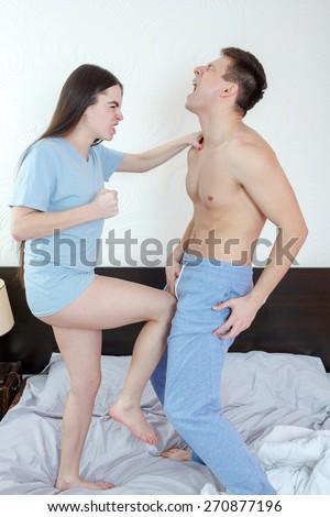Genitalia wife naked