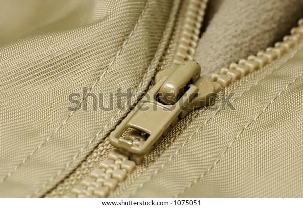 Photo of a Zipper