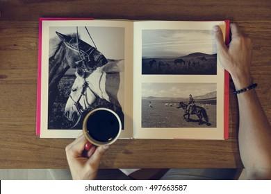 Photobook Album Picture Image Memories Concept