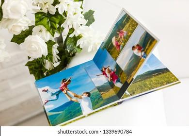 Photobook Album  with Travel Photos