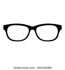 Photochromic spectacles icon. Simple illustration of photochromic spectacles  icon for web