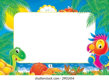 "Photo-frame ""Summer"""