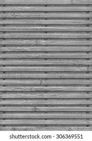 Photograph of Bamboo Place Mat, Gray Stained, Bleached and Mottled, Grunge Texture Detail.