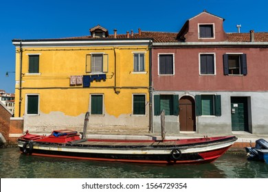 Photograph from the island of Murano in Venice, Italy. Famous for decorative-glass production.