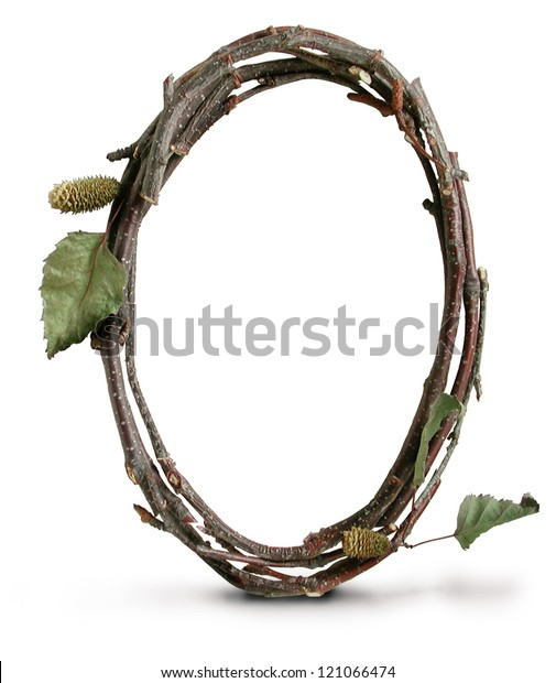 Photograph of Natural Twig and Stick Number Zero