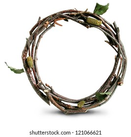 Photograph of Natural Twig and Stick Open Quote
