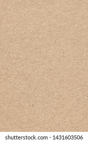 Photograph of recycle paper light brown coarse grain grunge texture sample