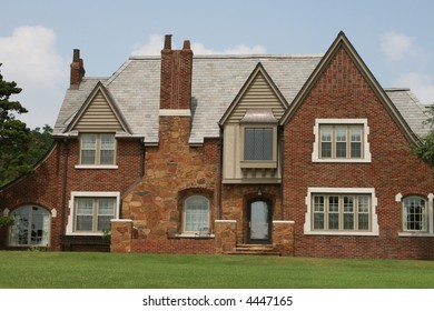 A photograph of a residential home.