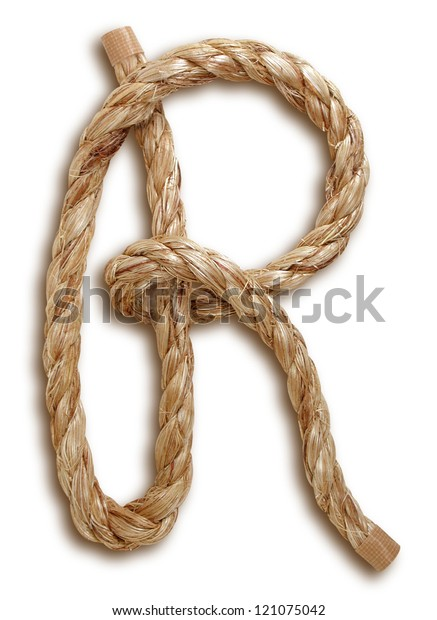 Photograph of Rope Letter R