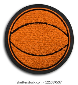 Photograph of School Sports Basketball Patch