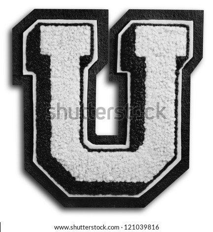 Photograph School Sports Letter Black White Stock Photo Edit Now