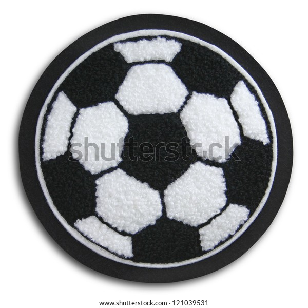 Photograph of School Sports Soccer Patch