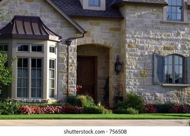 A photograph taken of a home in Oklahoma City.