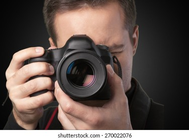 Photographer, Camera, Lens.