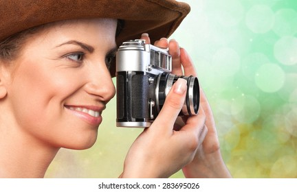 Photographer, Camera, Photographing.
