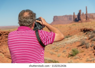 Photographer at Monument Valley.