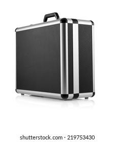 photographic equipment hard case isolated