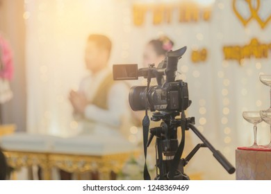 Photographic Equipment,  Video hold Camera, Black Color, Broadcasting,