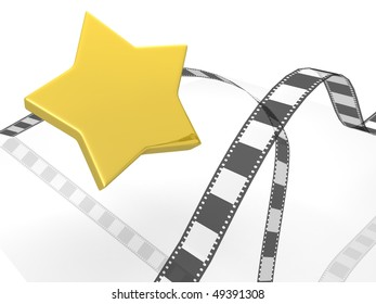 photographic film with star